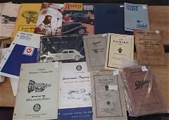 Car Brochures Books Manuals