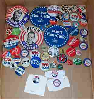 Political & Misc Pinback Buttons