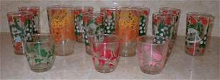 Vintage Pyro Drinking Glasses