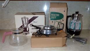 Vintage Proctor Silex Perculator Coronet Blender
