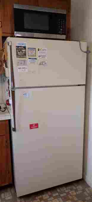 Refrigerator & Microwave