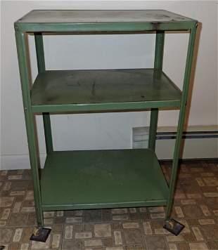 Vintage Green Utility Cart