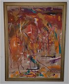 Oil on Canvas Painting Signed Fife