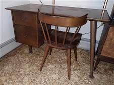 Paul McCobb Mid Century Modern Desk and Chair