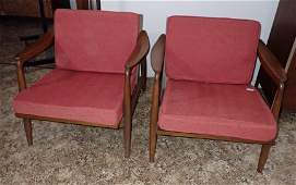 Pair of Nemschoff Mid Century Modern Chair