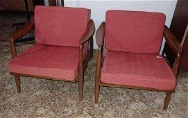 Pair of Nemschoff Mid Century Modern Chair