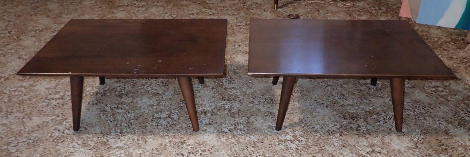 Paul McCobb Mid Century Modern Tables