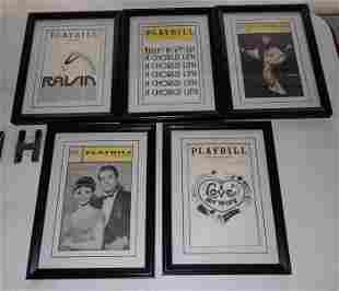 Framed Playbills