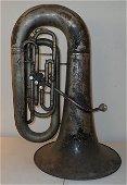Antique JW York Tuba