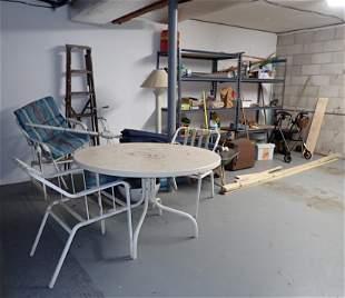Shelving Units / Partial Garage Contents