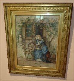 Walter Satterlee Watercolor