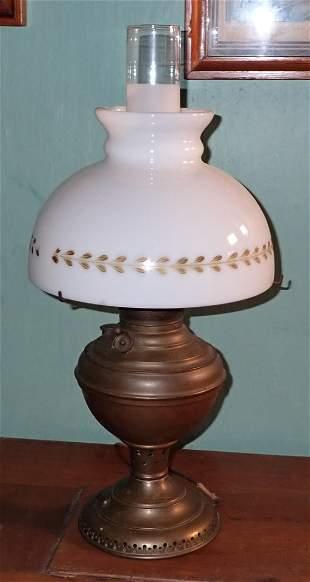 New Juno Brass Lamp