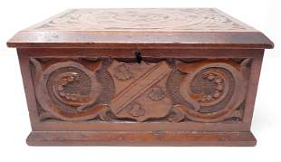 Carved Document Box
