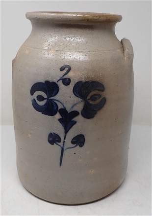 2 Gallon Stoneware Crock