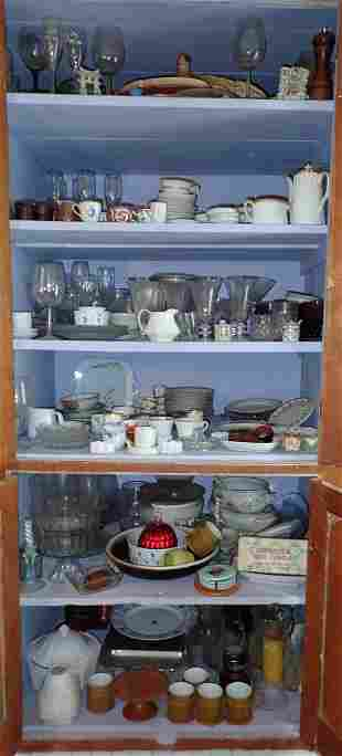 Contents of Large Cupboard
