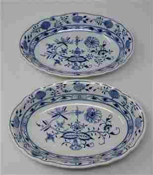 2 Meissen Serving Dishes