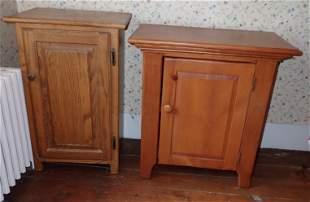 Oak & Pine Cabinets