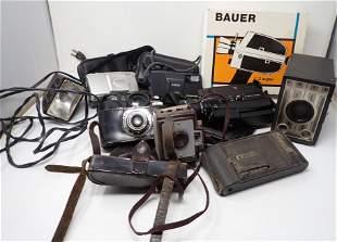 Antique Vintage Cameras and Video Cameras