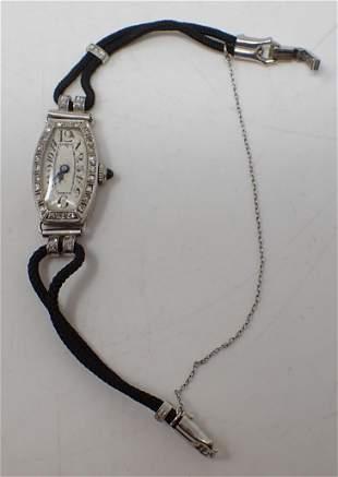 Platinum Bulova Ladies Wristwatch