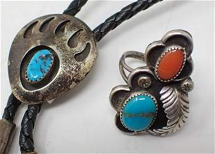 Bolo Tie and Ring