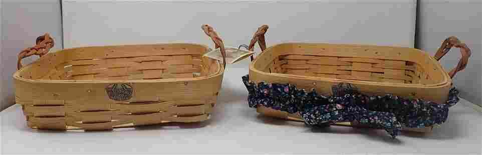 2 Peterboro & Heritage Mint Baskets