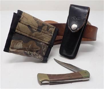 Buck Knife Belt Case & Holster