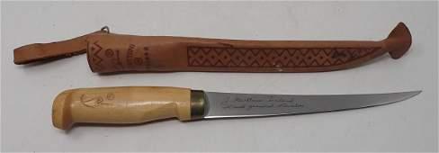 J Marttiini Filet Knife