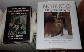 Signed Deer Hunting Books