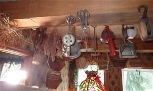 Kitchenware Pulley Baskets & Misc