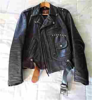 Buco Leather Motorcycle Jacket