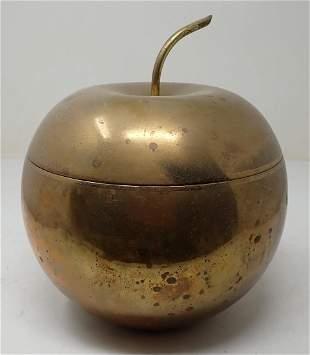 Apollo Brass Apple Ice Bucket