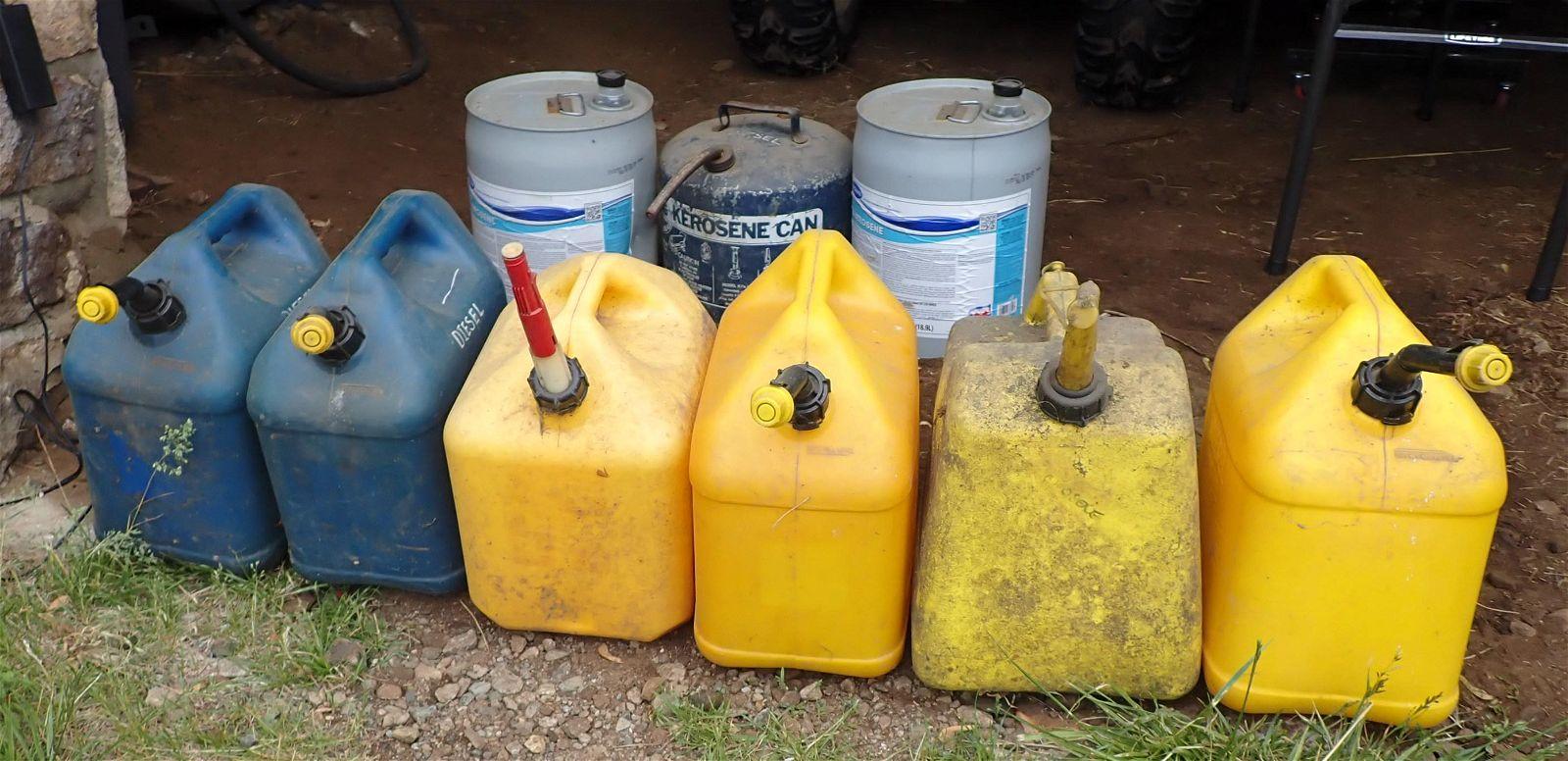Kerosene Diesel Cans