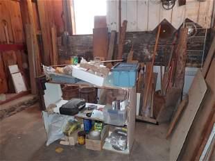Partial Room Contents Scrap Lumber & Misc