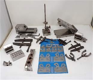 Machinist V Blocks Gauges Clamps Misc Tools