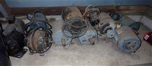 Electric Motors Copper Brass & Misc