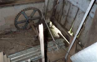 Scrap Lumber Iron Gear Cables & Misc