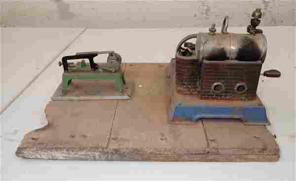 Wilesco Model Steam Engine Power Hacksaw