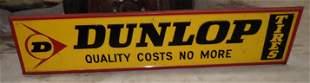 1972 Dunlop Tires Sign