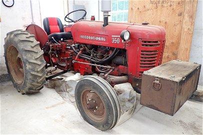International 350 Tractor