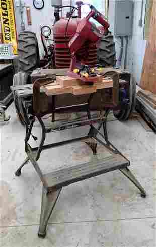 Black & Decker Work Table w/ Sharpener