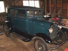 1928 Ford Model A 2 Door Sedan