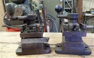 2 Lathe Tool Post Holders