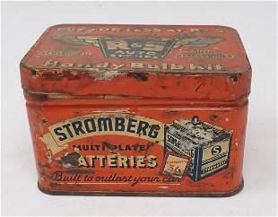 Stromberg Spark Plugs Pyre Lube Oil Tin