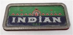 Indian Gas Pump Plate / Lens