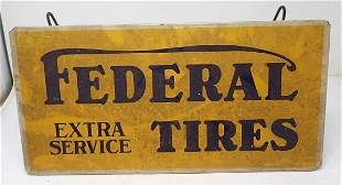 Federal Tires Store Display