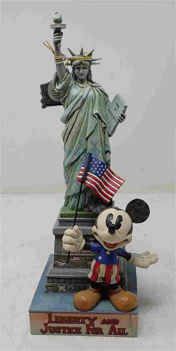 Jim Shore Liberty For All Mickey Mouse