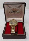 Vintage Omega Seamaster Watch w/ Rams Head