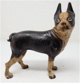 Antique Cast Iron Hubley Dog Doorstop