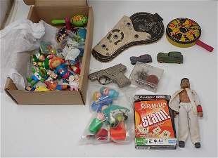 Vintage Childrens Toys Noisemakers & Figures