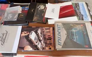 Car Brochures Books Hummer Clock
